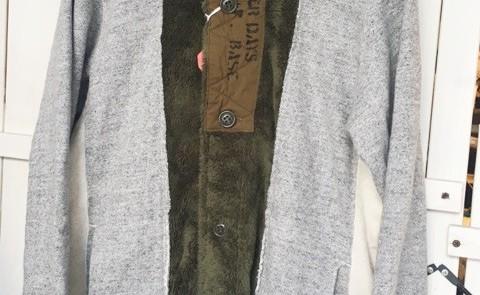 寒い時にサクッと羽織れる可愛いパーカー!