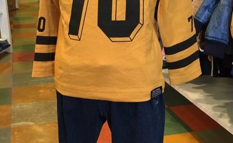 70ロゴ 8分袖Tシャツ!
