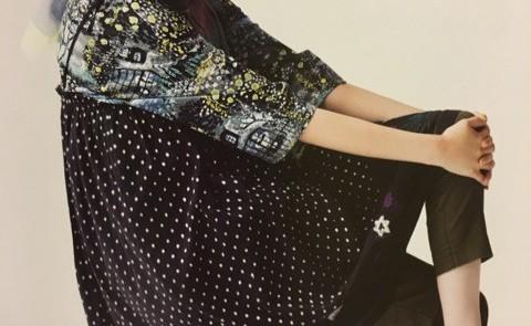 dots & flowers 2WAY スカート♪