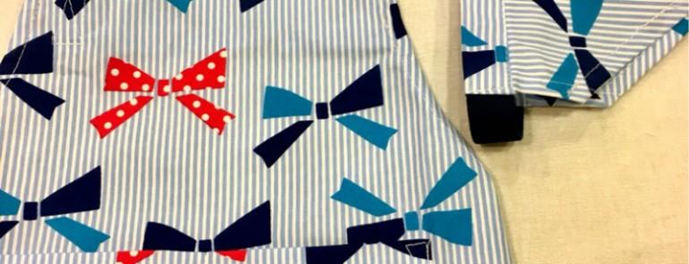 ちょっと可愛いエプロンと三角巾のセット