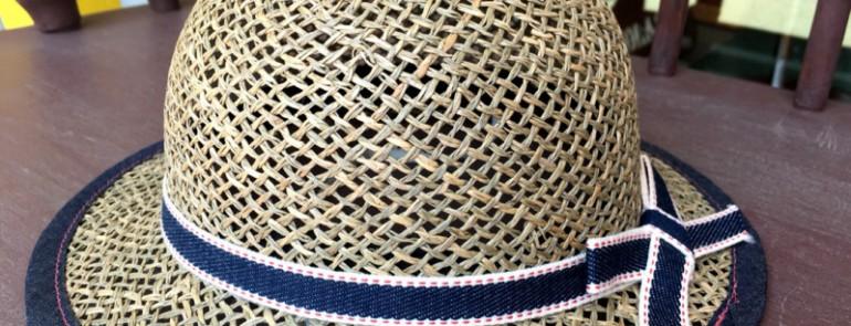 暑い夏の帽子★懐かしい麦わら