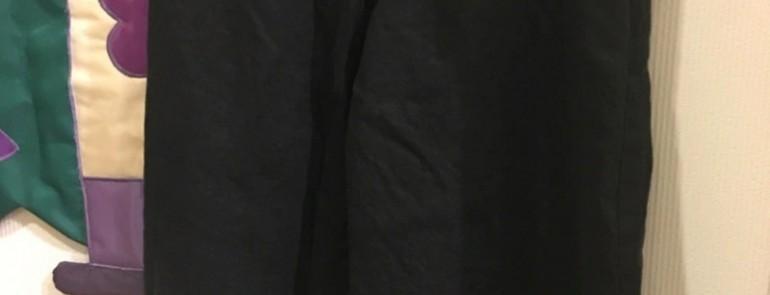 tumugu: リネンのパンツ