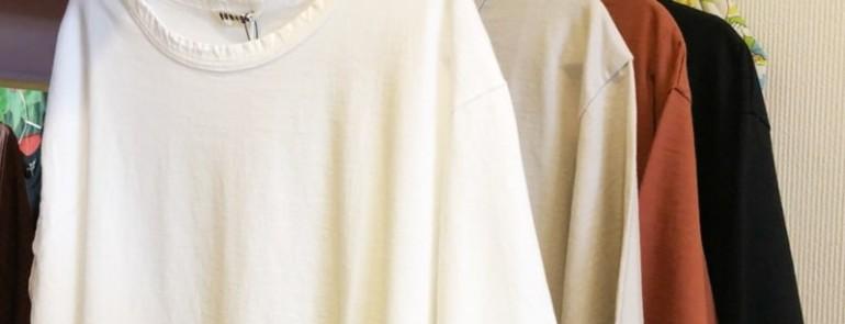 着心地抜群◎7分袖Tシャツ