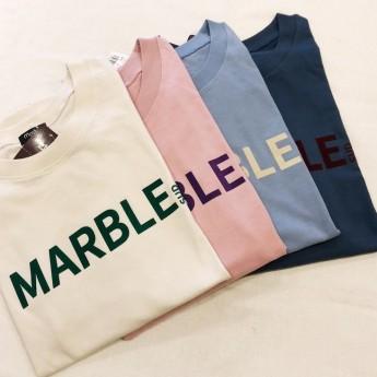 marble S/S Tee♪