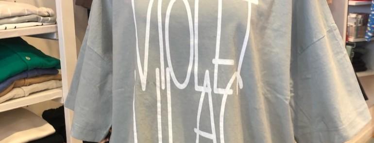 tumugu:ラフィ天竺Tシャツ&ふわふわブラウス