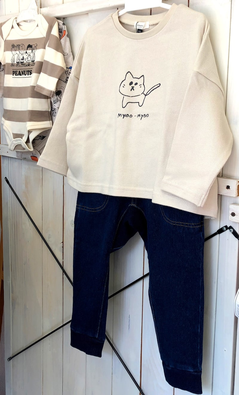 キッズ☆おすすめロンT &快適デニムパンツ